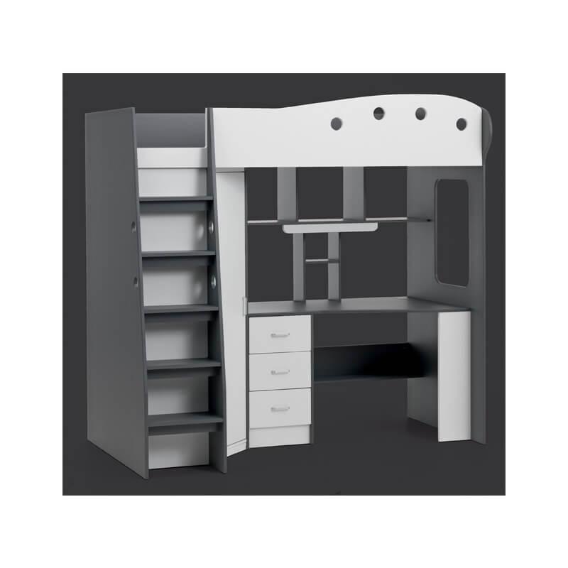 łóżko Piętrowe Tavlund Galeria Wnętrz Domar Różne Style