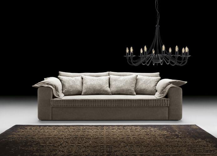 szara sofa Livorno