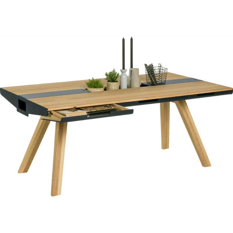 Stół Z Szufladami Nature 80 Galeria Wnętrz Domar Różne Style I
