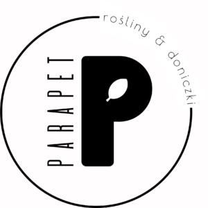 Parapet - rośliny i doniczki
