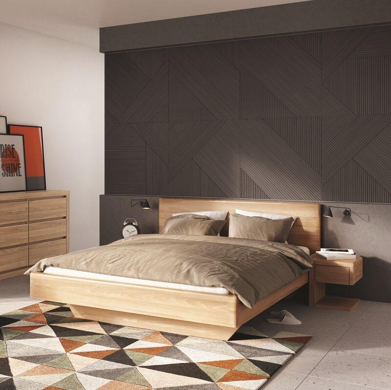 Drewmax łóżko Lk 110 Galeria Wnętrz Domar Różne Style I