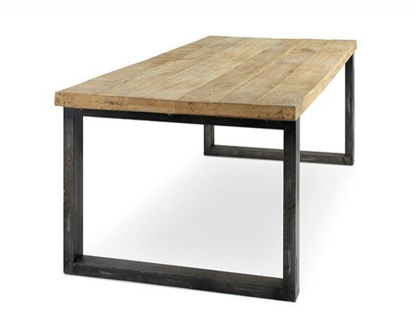 prostokątny, drewniany stół do jadalni Kenzo