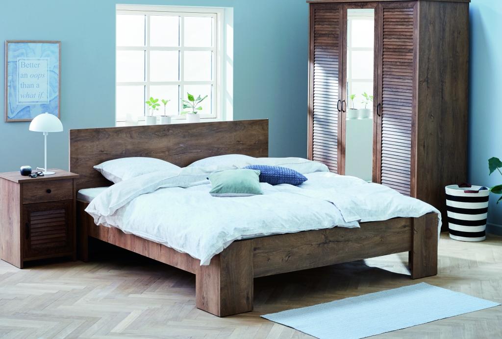 Rama łóżka Vedde Galeria Wnętrz Domar Różne Style I
