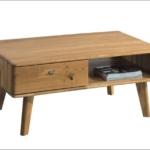 stolik kawowy z litego drewna dębowego
