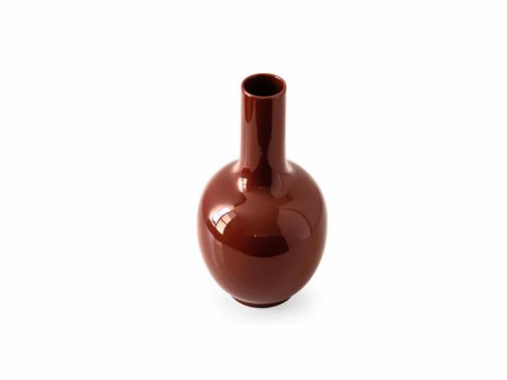 Wazon ceramiczny Calligaris Evan czerwony
