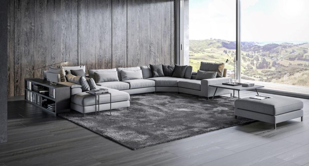 Modułowa Sofa Horizon szara