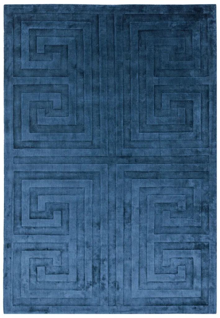 niebieski dywan Kingley