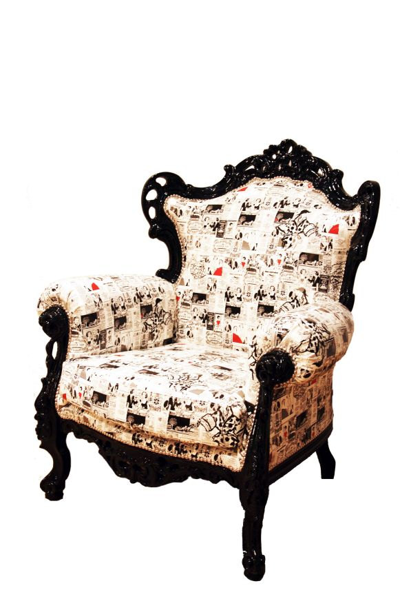 Fotel 111/K - mebel z ekspozycji
