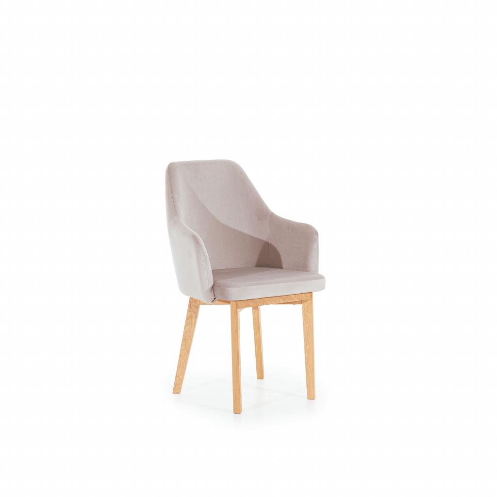 Krzesło Sann - obicie w kolorze kremowym