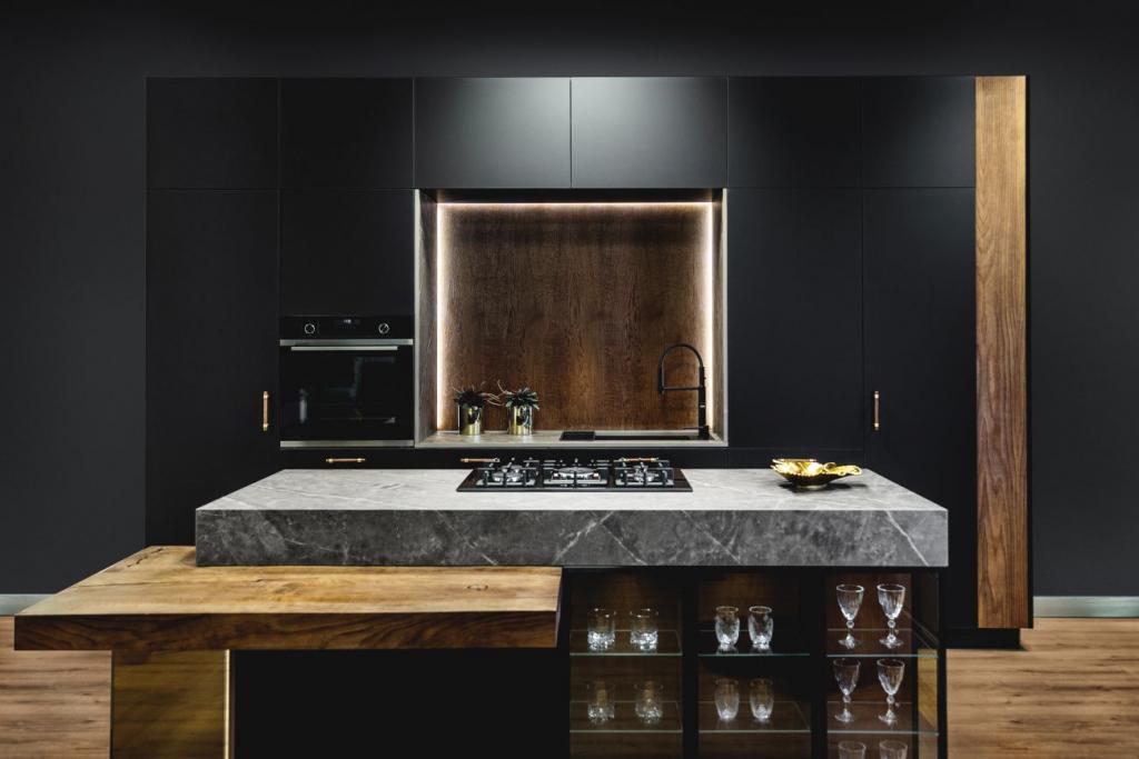 czarna kuchnia bold