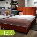 Łóżko tapicerowane 160x200