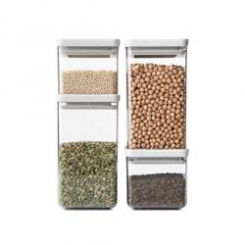 zestawy 4 pojemników na żywność